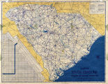 Map of South Carolina State...