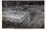 Trenches, Camp Jackson, Columbia, S.C.